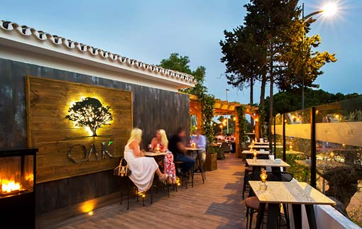 OAK Garden and Grill - Marbella Steak Restaurant