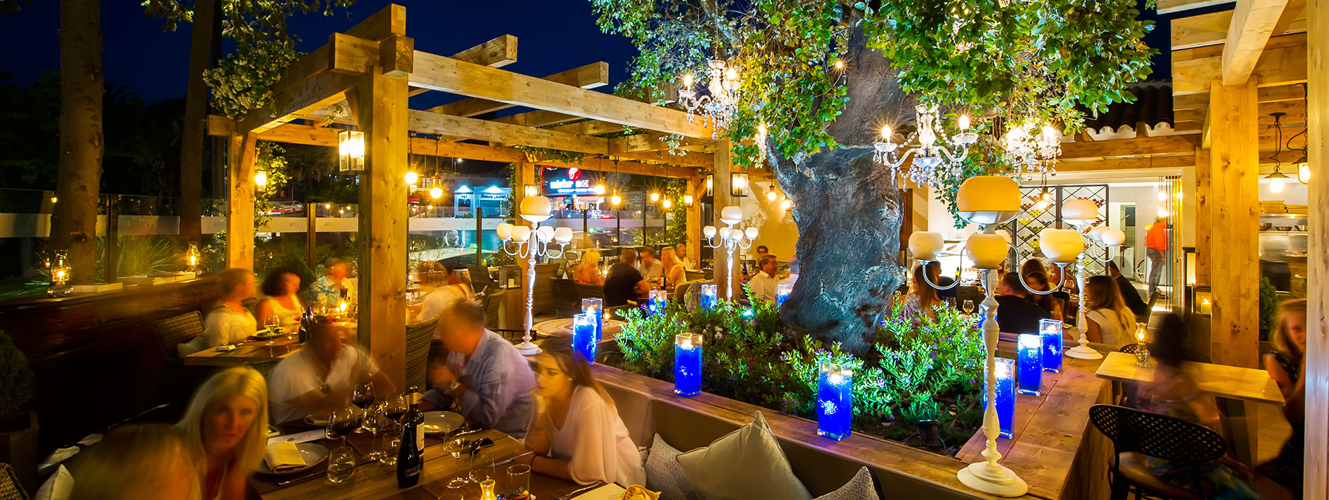 OAK Garden and Grill Meat, Steak and Fish Restaurant Puerto Banus