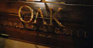 The best steak in Marbella at OAK Garden & Grill
